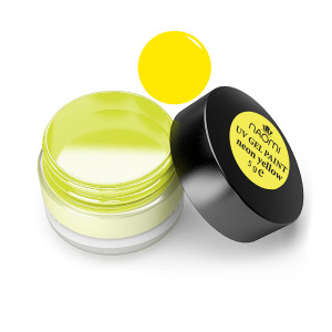 Гель-краска Naomi Neon Yellow UV Gel Paint 5 г